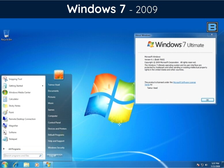 History Of Windows: 34 Years of Transformation | Windows 1 0