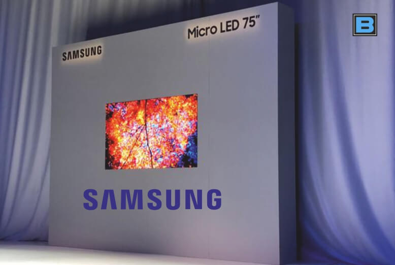12e9cb416ca Samsung introduces first 75-inch 4K Modular MicroLED TV at CES 2019